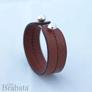 coleccion-plata-brabata-esferas-pulsera-marron