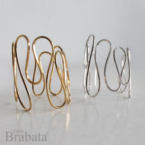 coleccione-garabatos-brabata-brazalete-grande-plata-oro