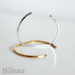 coleccione-garabatos-brabata-brazalete-sencillo-plata-oro